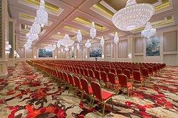 Grand Ballroom - Theatre-Style Meeting Back