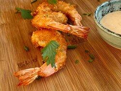 Tempura shrimps
