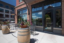 Our patio is first come, first served.