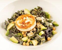 Goat Cheese Salad (mint dressing / chickpeas / avocado)