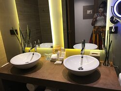 Standard Junior suite bathroom.  VERY spacious.