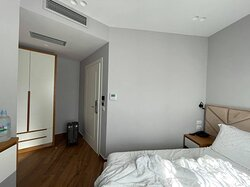 So-called DELUXE Double Room. 340 EUR for three nights in June.