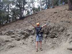 I survived the free fall jump! at age 60! You've got to try this!
