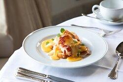 María Cristina Breakfast - Benedictine Eggs