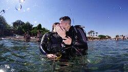 הצעת נישואין בצלילה 💍