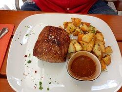 Angus Black 350g avec pommes frites