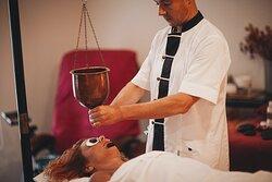 Ayurvedic Shirodhara Ritual