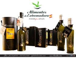 Oleosetin, aceite de oliva virgen extra de la variedad autóctona de la provincia de Cáceres Manzanilla Cacereña. Producción familiar premiada a nivel internacional como uno de los mejores aceites de oliva virgen extra del mundo, por las singularidades que le aporta la variedad y las singularidades de este pequeño productor familiar