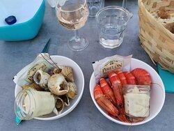 Crevettes et Bulots