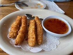 Calamari with a great sauce