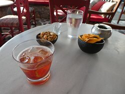 Negroni and nibblies