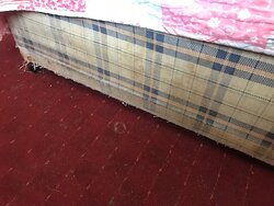 Stained Divan Bed