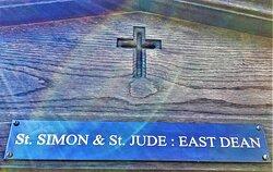 1.  St Simon & St Jude Church, East Dean, East Sussex