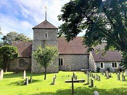 2.  St Simon & St Jude Church, East Dean, East Sussex