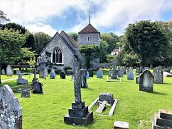 4.  St Simon & St Jude Church, East Dean, East Sussex