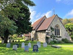8.  St Simon & St Jude Church, East Dean, East Sussex