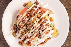 Shawarma Chicken Greek Pita