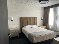 One of the bedrooms in 118