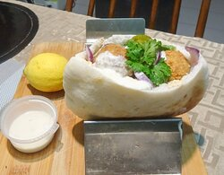 Falafel in Pocket Pita Bread