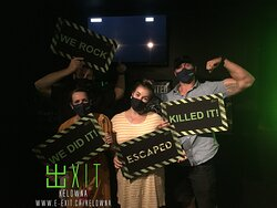 Here's some of our awesome escapee's from July 4th-10th 2021. Many failed and many succeeded! Test your wits today!
