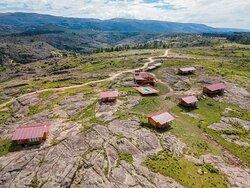 una foto desde arriba donde se aprecia la maravilla de nuestro entorno