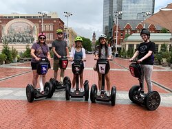 """The """"Best of Both Worlds Tour"""" was great, starting in downtown Fort Worth and going down to Trinity Park. Tim was a great guide and was so patient with one of our party that was unsure of herself at first, but was a pro by the end of the tour!"""