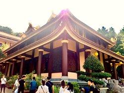 Main Hall at Tay Thien zen monsastery