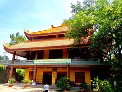 Dining house at Tay Thien zen monsastery