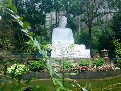 Buddha at Tay Thien zen monsastery