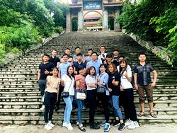 Trip to Tay Thien zen monsastery with friends