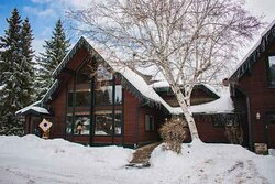 Winter Exterior of the Lodge