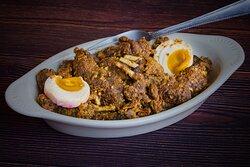 Salted Egg Kambing Spareribs  300 grams Serves 2-3 460 pesos (as of July 12, 2021)