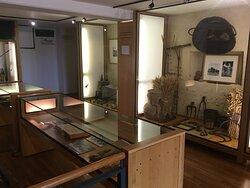 Visite du musée de Sologne, salle des métiers