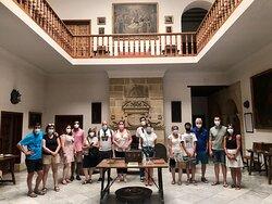visita guiada diaria en Úbeda con SEMER Turismo. En el interior del Palacio Vela de los Cobos www.visitasguiadasubedaybaeza.com
