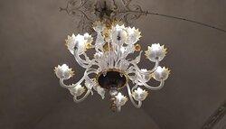 lampadario di Murano