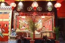 Kalsang restaurant Chandigarh sitting place