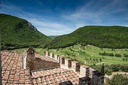 Antognolla Golf - vista dal castello