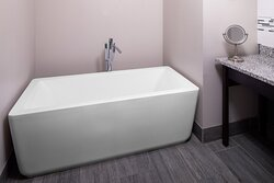 A relaxing soak after a long day. Reserve  the Presidential or Executive Suite