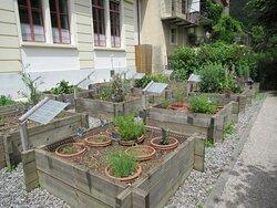 Place des Esportates (Jardin médiéval, sculpture John Howe et espace détente) - Saint-Ursanne (JU)