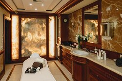 We offer Facials, Hair-, Nail- and Body Treatments and Massages - book your visit today!