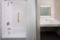 Accessible Bathrooms available with tubs