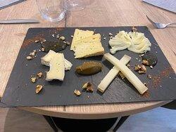 Notre assiette de fromage