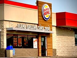 If you can find the Cenex gas station sign right off of I-29, you should very easily be able to find Burger King! (July 12th 2021h)