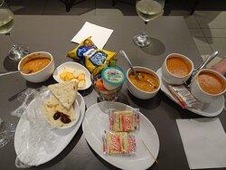 Lunch (sort of)
