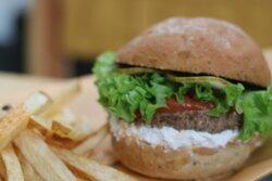 Hamburguesa Vegetariana de Frutos Secos