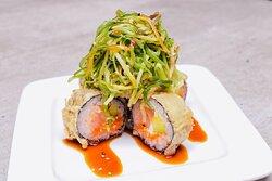 Spice Roll receta exclusiva de @juandalle by @arigatosushi