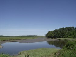 ME - SCARBOROUGH – EASTERN TRAIL – VIEW OF MARSH & RIVER #1