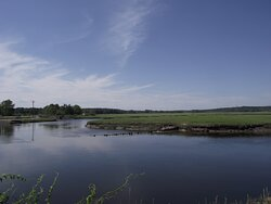 ME - SCARBOROUGH – EASTERN TRAIL – VIEW OF MARSH & RIVER #3