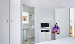 A Coconut Room ensuite at The Atlanitc Byron Bay