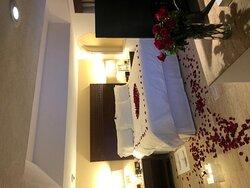 Excellent for 2 week honeymoon!!